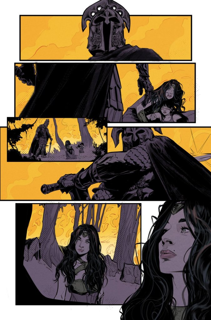 Wonder Girl #1, anteprima 04