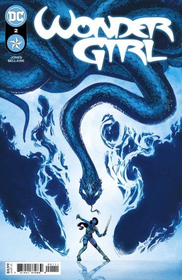 Wonder Girl #2, copertina di Joelle Jones