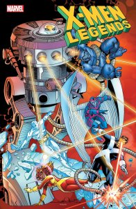 X-Men Legends #4, copertina di Walt Simonson