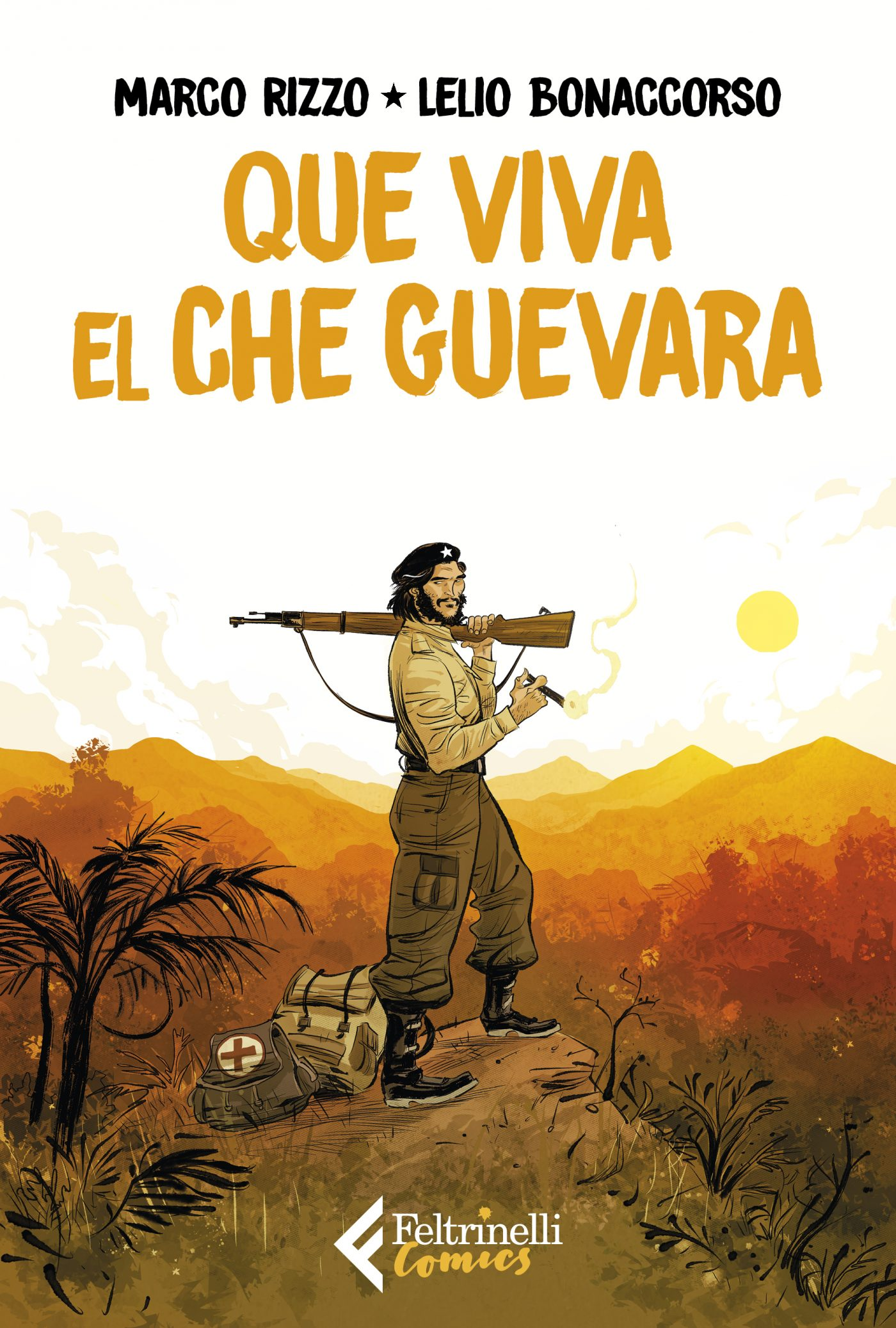 Que viva el Che Guevara, copertina di Lelio Bonaccorso