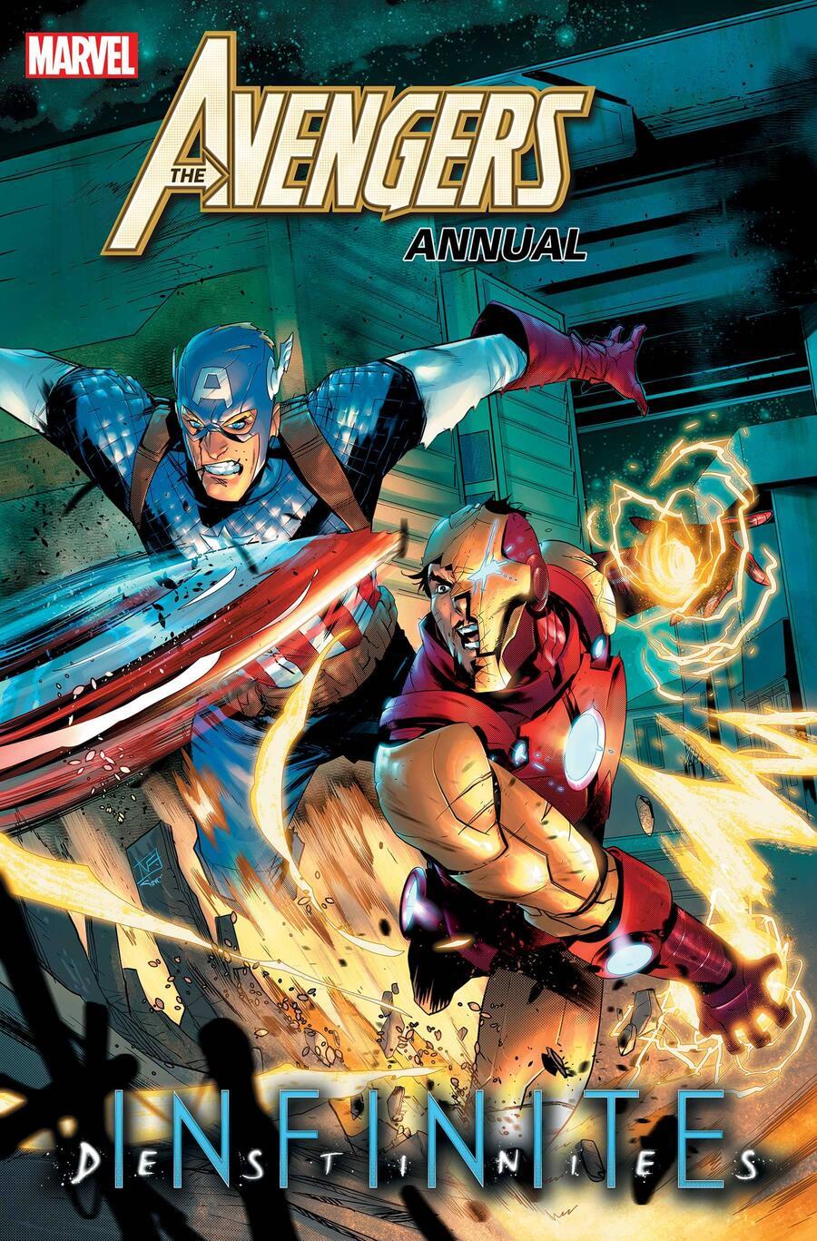 Avengers Annual #1, copertina di Federico Vicentini