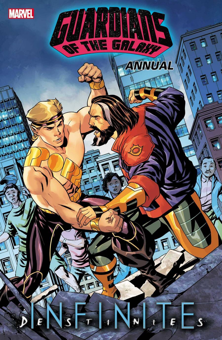 Guardians of the Galaxy Annual #1, copertine di Mike McKone