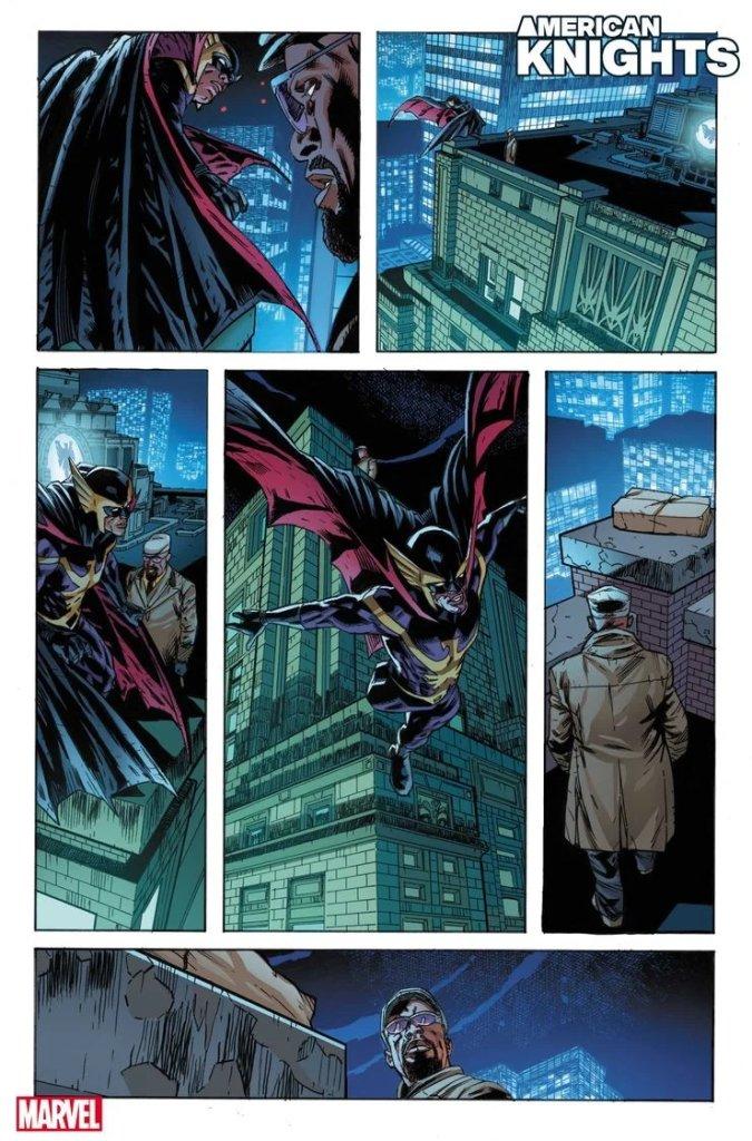 Heroes Reborn: American Knights #1, anteprima 03