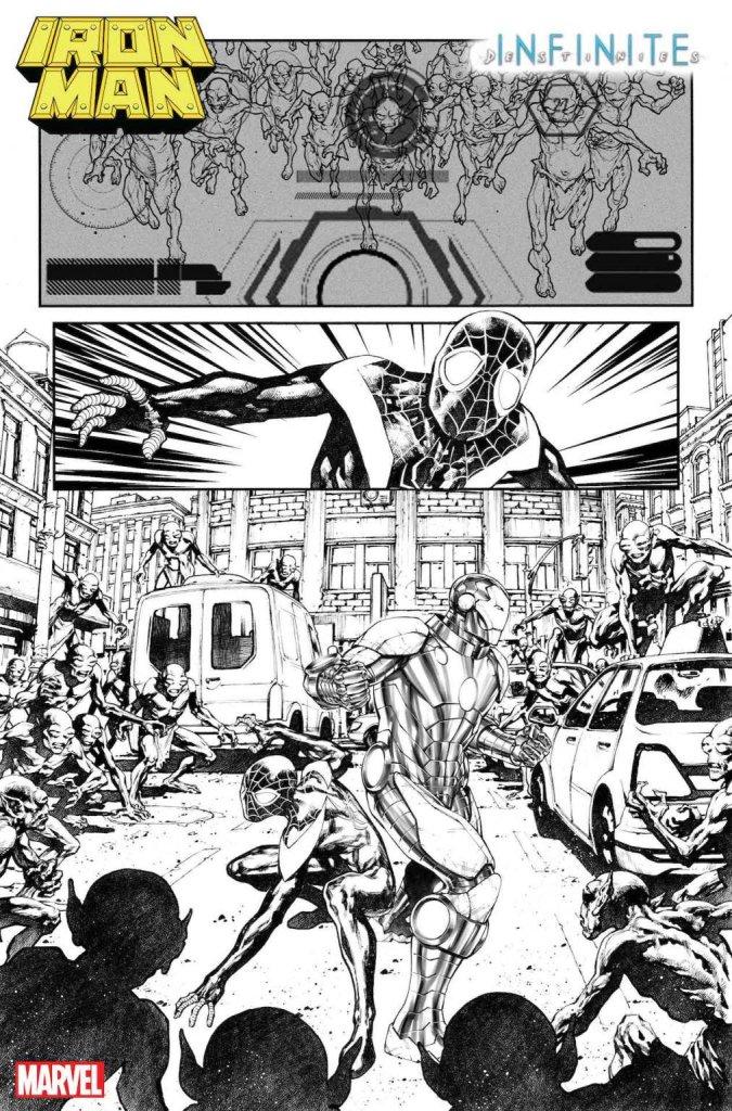 Iron Man Annual #1, anteprima 01 (bianco e nero)