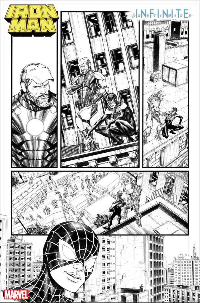 Iron Man Annual #1, anteprima 02 (bianco e nero)