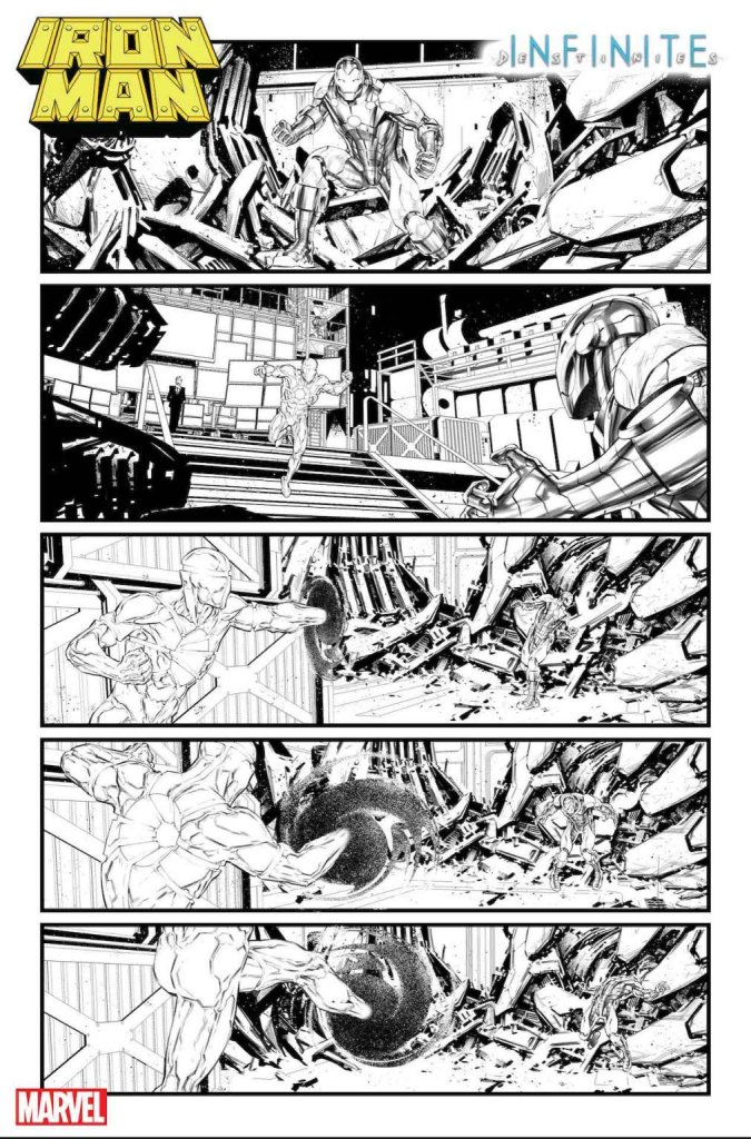 Iron Man Annual #1, anteprima 04 (bianco e nero)