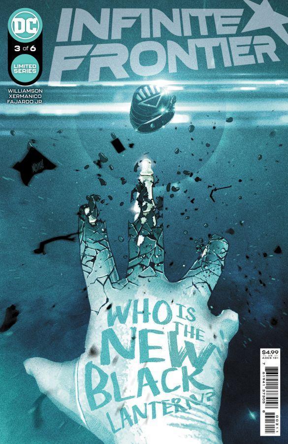 Infinite Frontier #3, copertina di Mitch Gerads