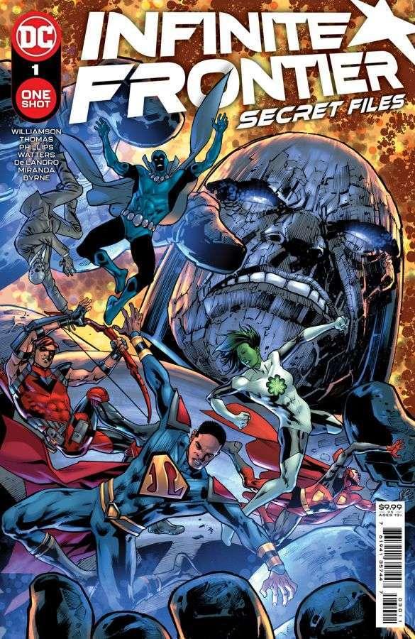 Infinite Frontier: Secret Files #1, copertina di Bryan Hitch
