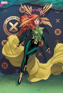 Planet-Size X-Men #1, variant cover di Russell Dauterman
