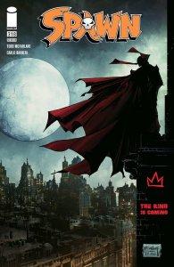 Spawn #318, variant cover di Todd McFarlane