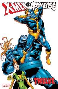 X-Men vs. Apocalypse #1, copertina di Adam Kubert