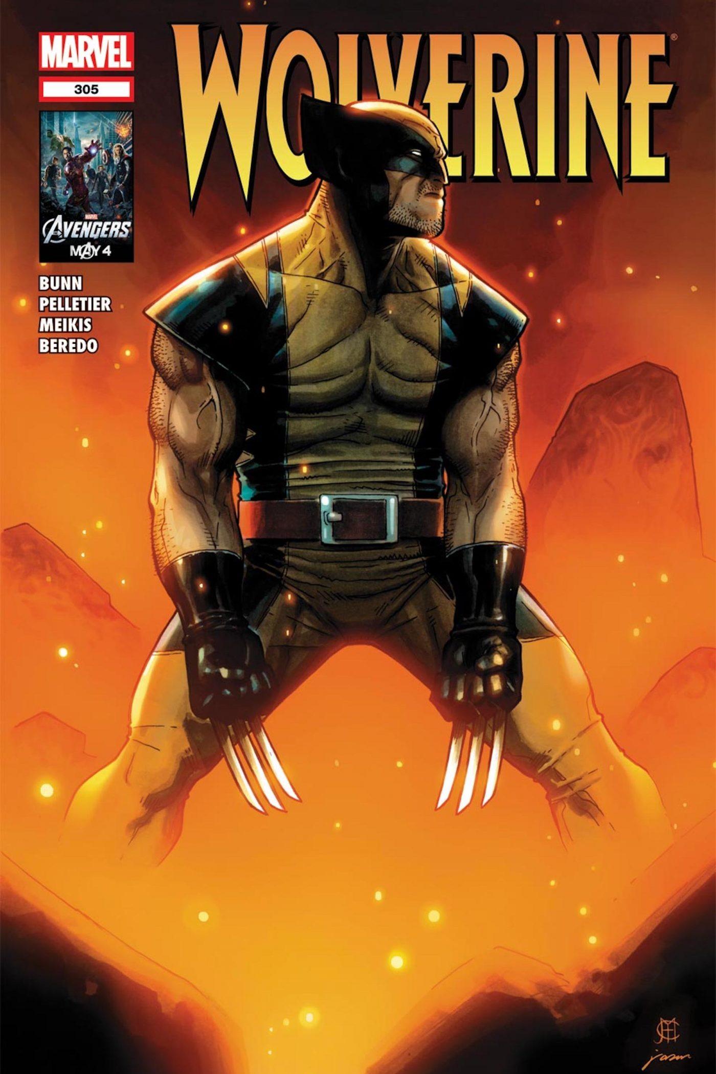 Wolverine #305, copertina di Jason Keith e Jim Cheung