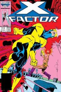 X-Factor 11, copertina di John Romita Jr.