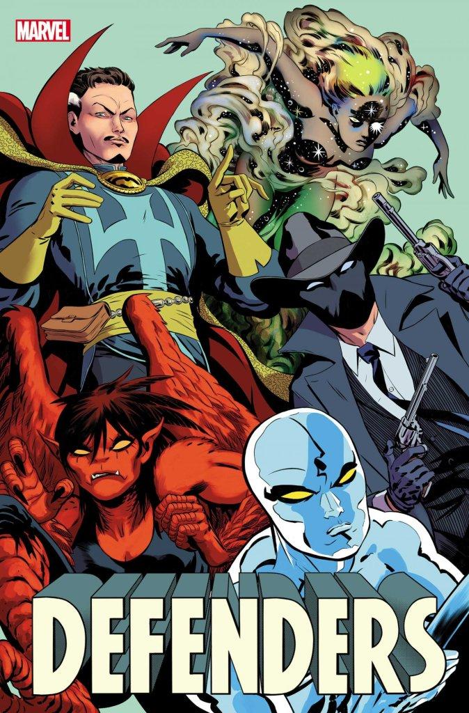 Defenders #1, copertina di Javier Rodriguez