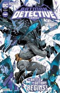 Detective Comics #1034, copertina di Dan Mora