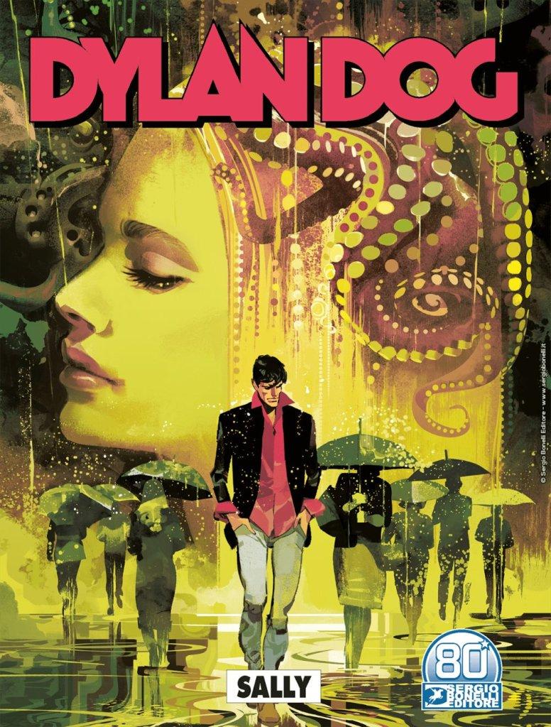 Dylan Dog 418: Sally, copertina di Gigi Cavenago