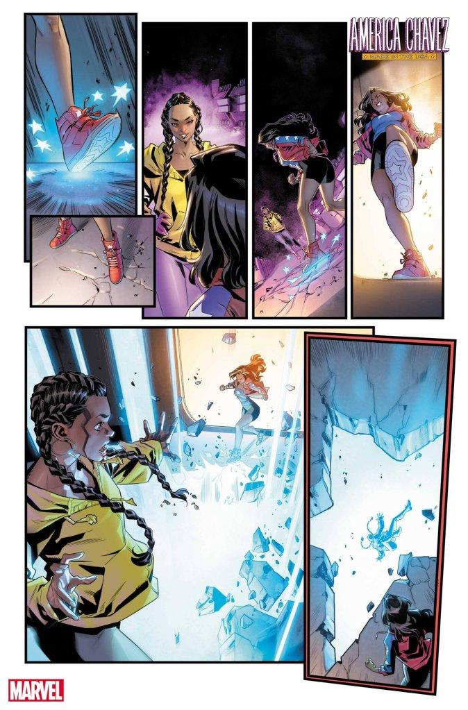 America Chavez: Made in U.S.A. #4, anteprima 02