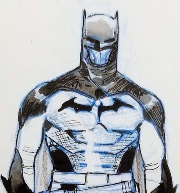 I Am Batman, character design di Olivier Coipel