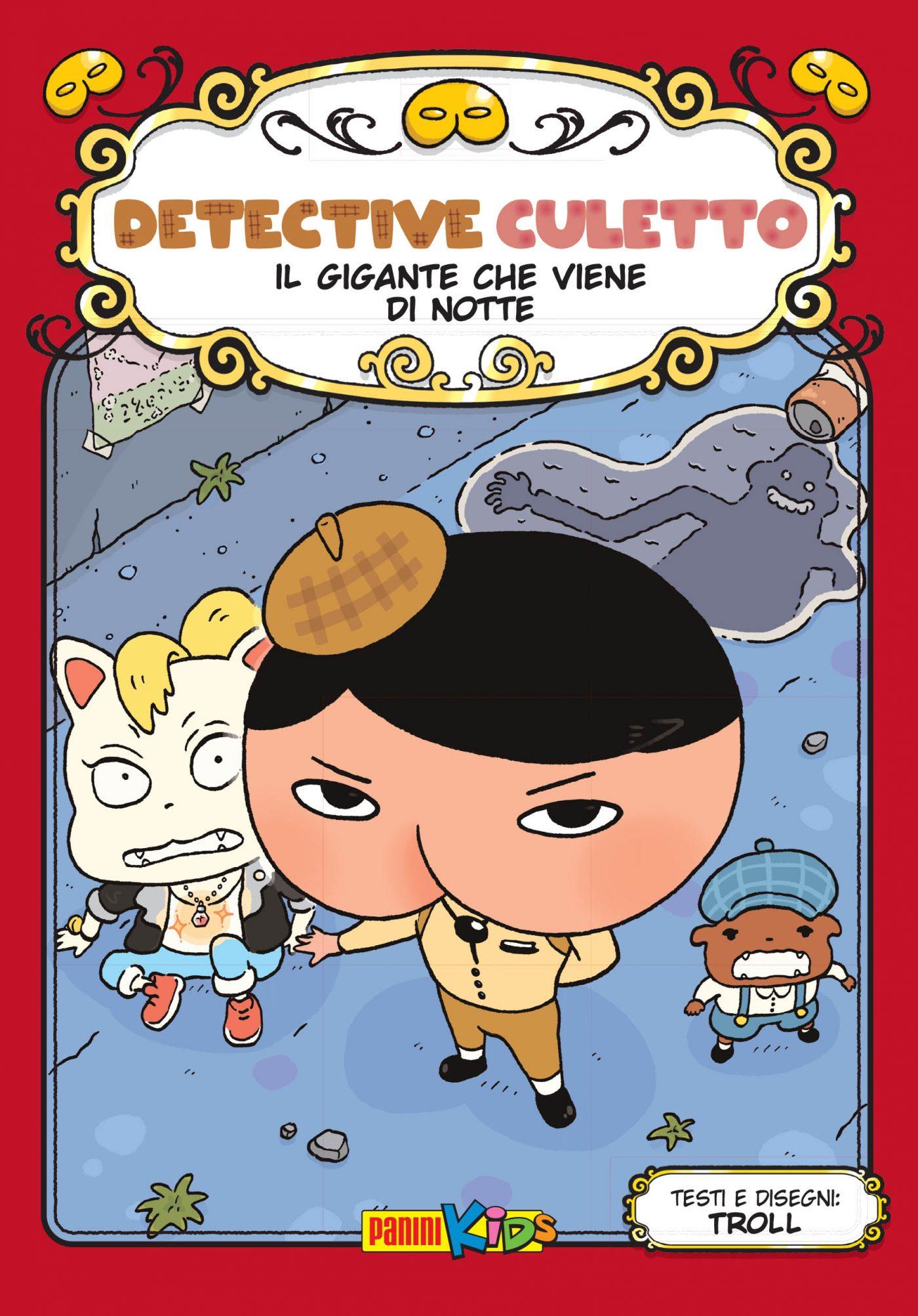 Detective Culetto vol. 2, copertina