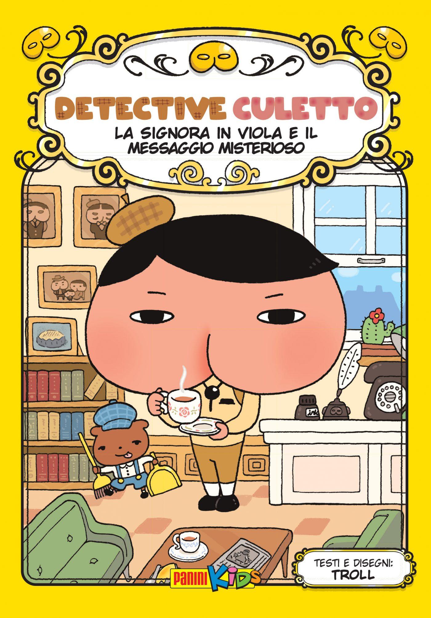 Detective Culetto vol. 1, copertina