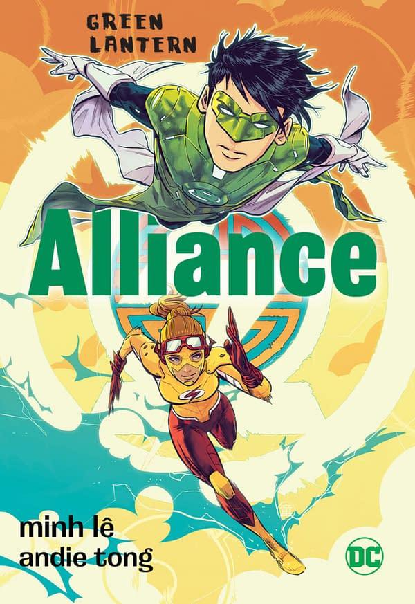 Green Lantern: Alliance, copertina di Andie Tong