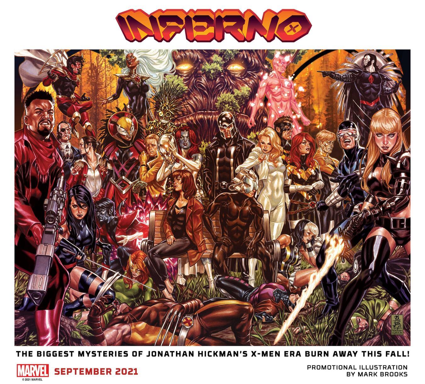 Inferno, teaser di Mark Brooks