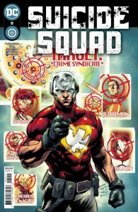 Suicide Squad #5, copertina di Eduardo Pansica