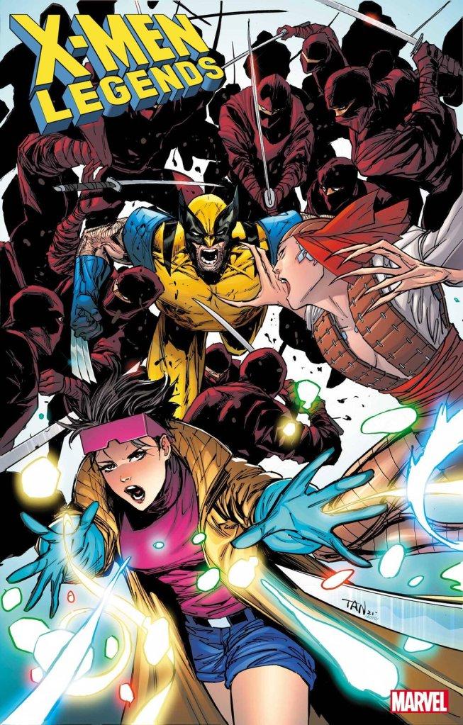 X-Men Legends #7, copertina di Billy Tan