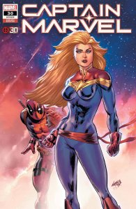 Captain Marvel #30, variant cover di Rob Liefeld