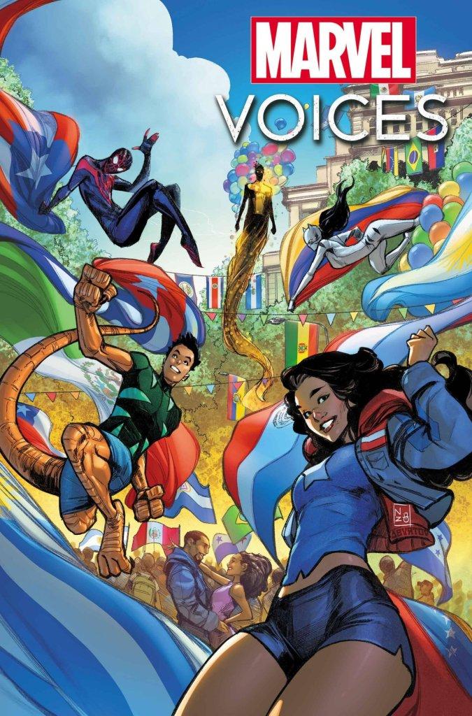 Marvel's Voices: Comunidades #1, variant cover di Nabetse Zitro e Jesus Aburtov