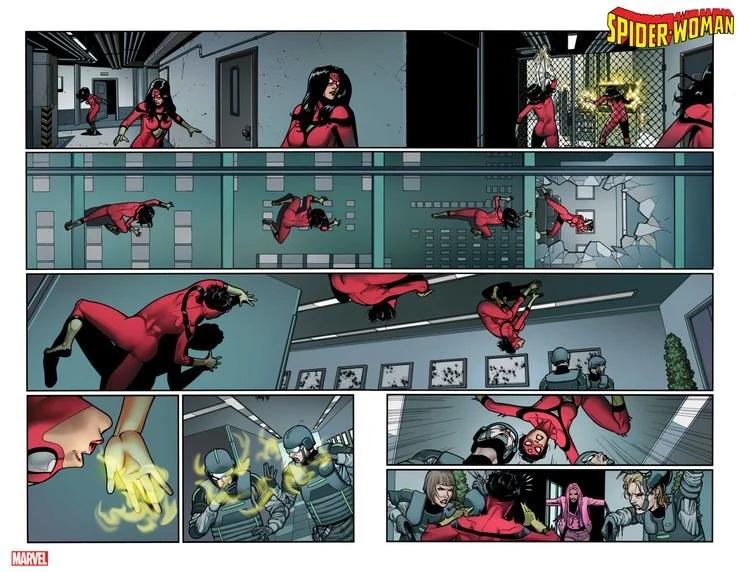 Spider-Woman #14, anteprima 01