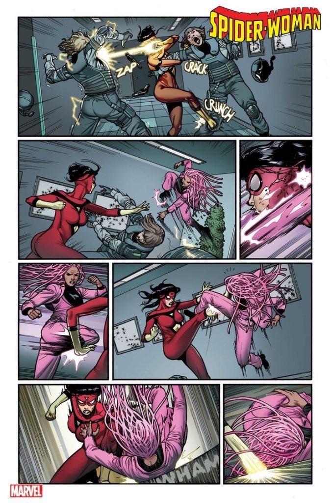 Spider-Woman #14, anteprima 02