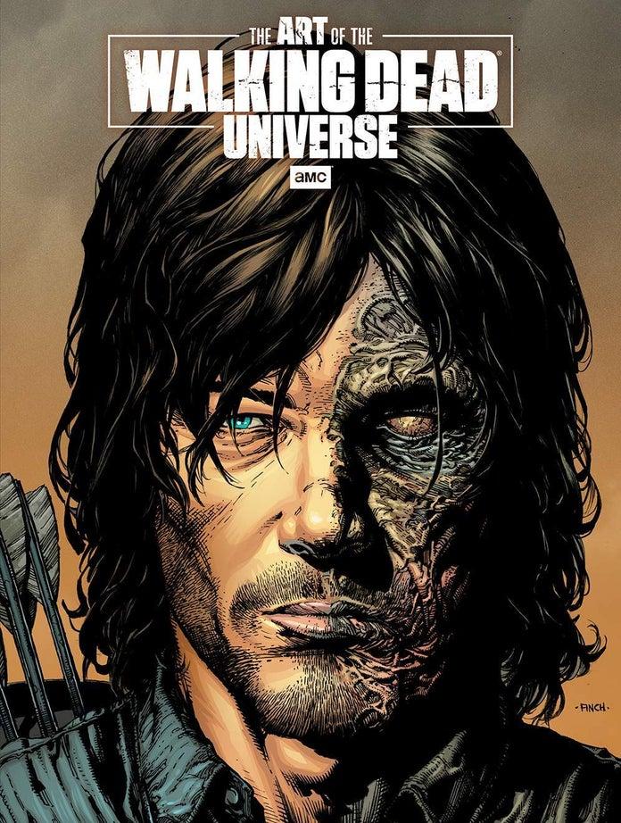 The Art of the Walking Dead Universe, copertina di David Finch