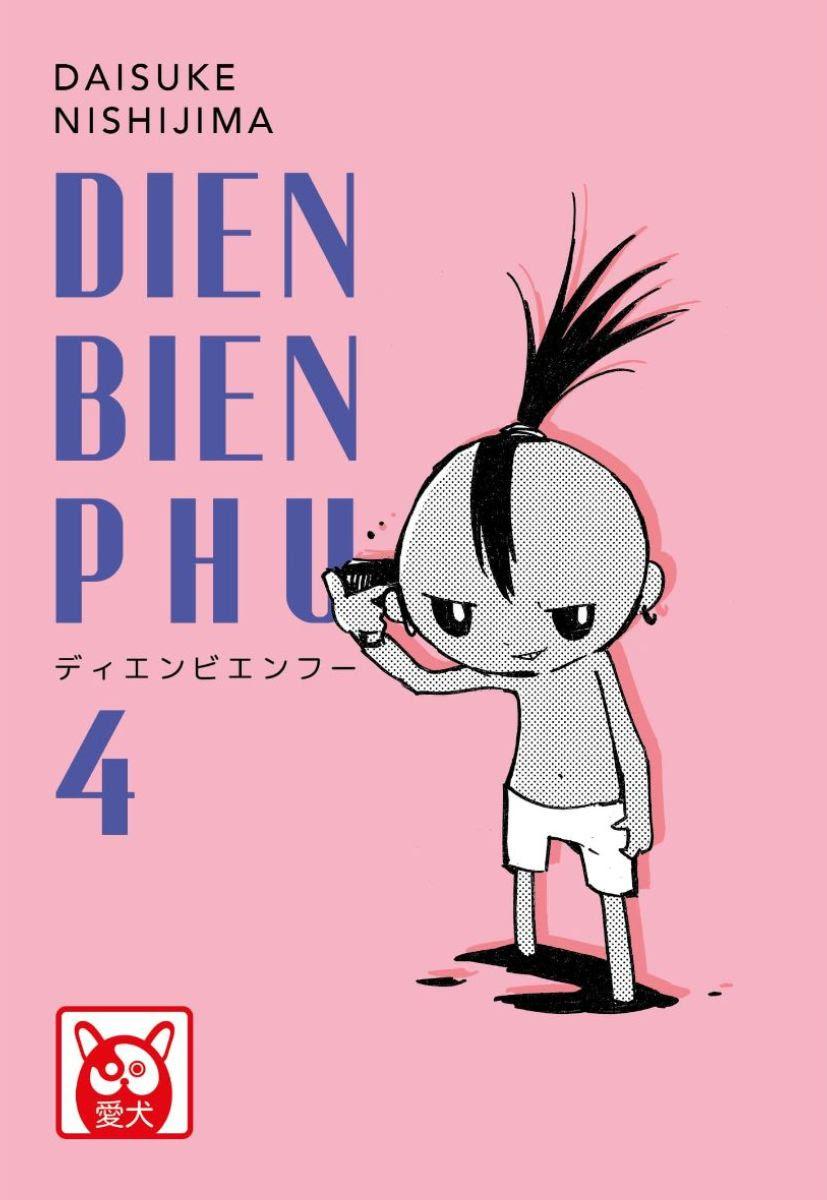 Dien Bien Phu 4, copertina di Daisuke Nishijima