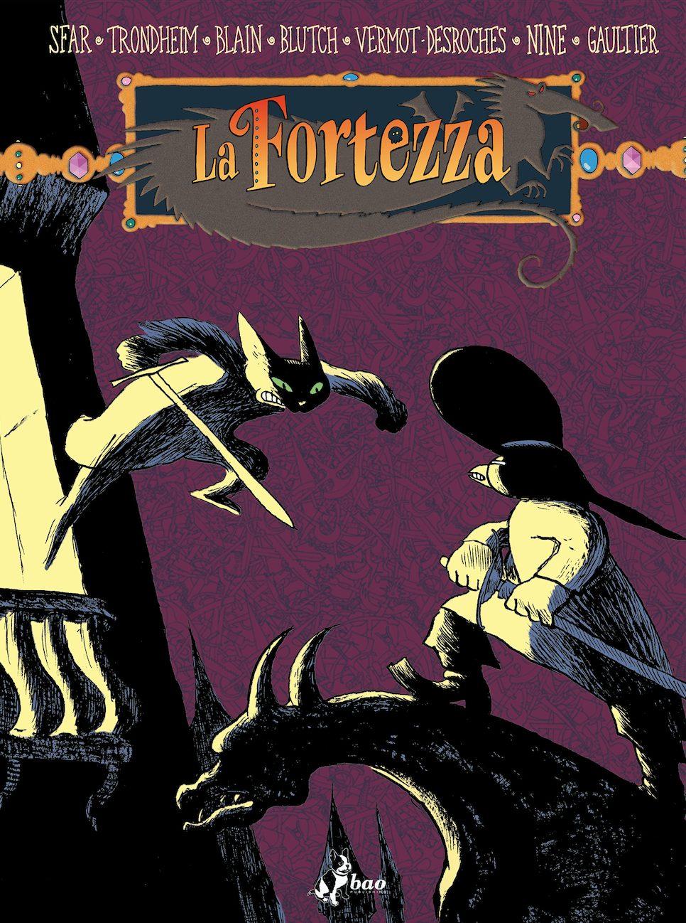 La fortezza vol. 3, copertina