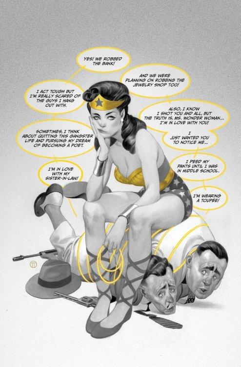 Wonder Woman Black & Gold #5, copertina