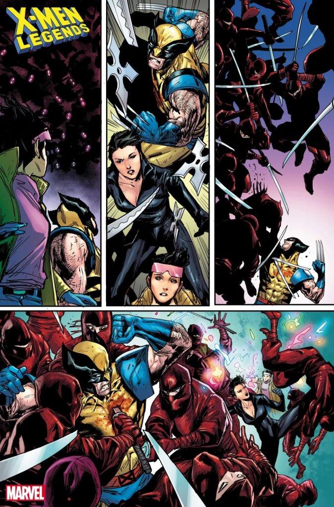 X-Men Legends #7, anteprima 03