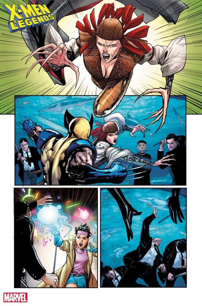 X-Men Legends #7, anteprima 02