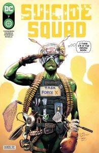 Suicide Squad #7, copertina di Eduardo Pansica