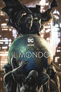 Batman: Il mondo, copertina di Lee Bermejo