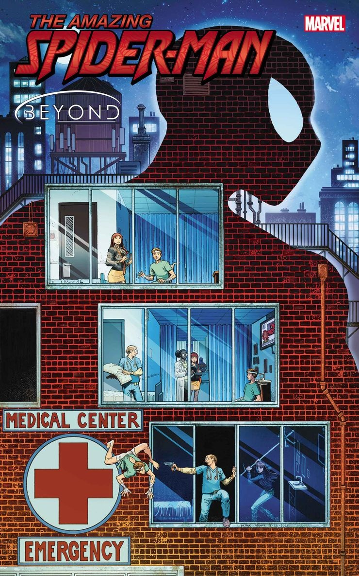 Amazing Spider-Man 82, copertina di Arthur Adams