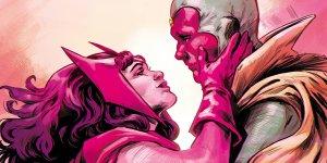Avengers Scarlet Visione