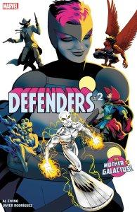 Defenders #2, copertina di Javier Rodriguez