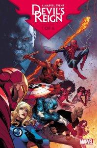 Devil's Reign #1, copertina di Marco Checchetto
