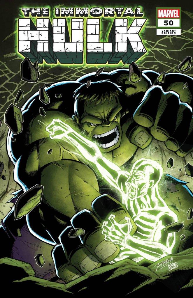 Immortal Hulk #50, variant cover di Ron Lim