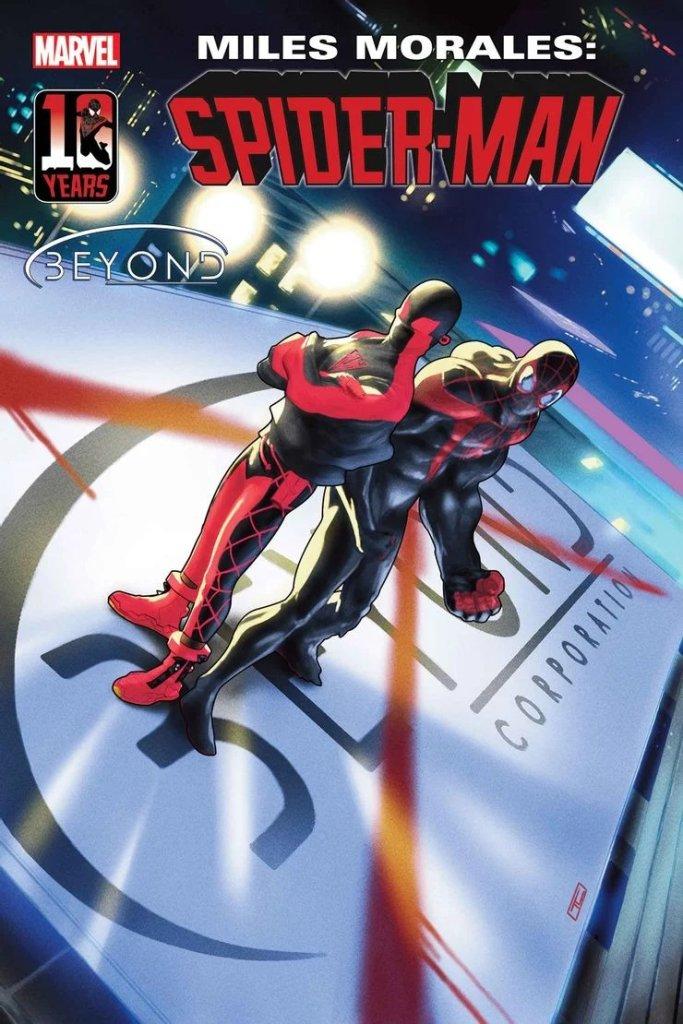 Miles Morales: Spider-Man #33, copertina di Taurin Clarke