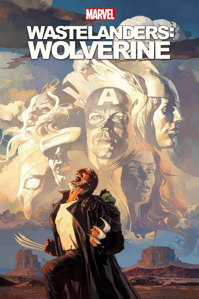 Wastelanders: Wolverine #1, copertina di Josemaria Casanovas