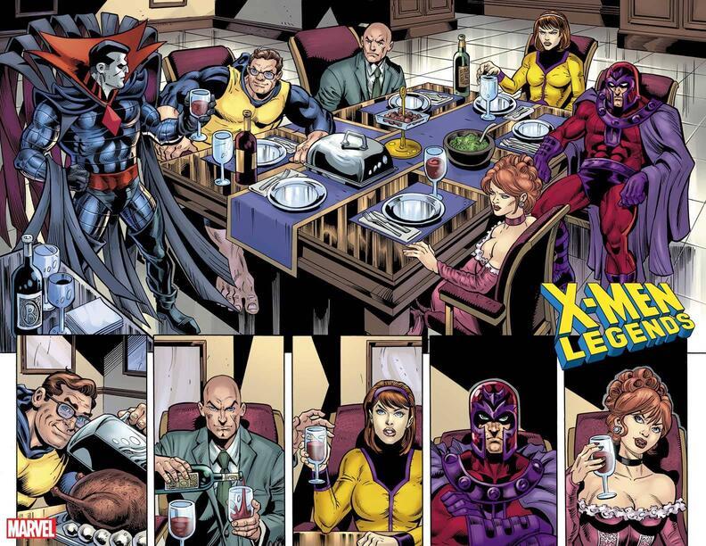 X-Men Legends #10, anteprima 01