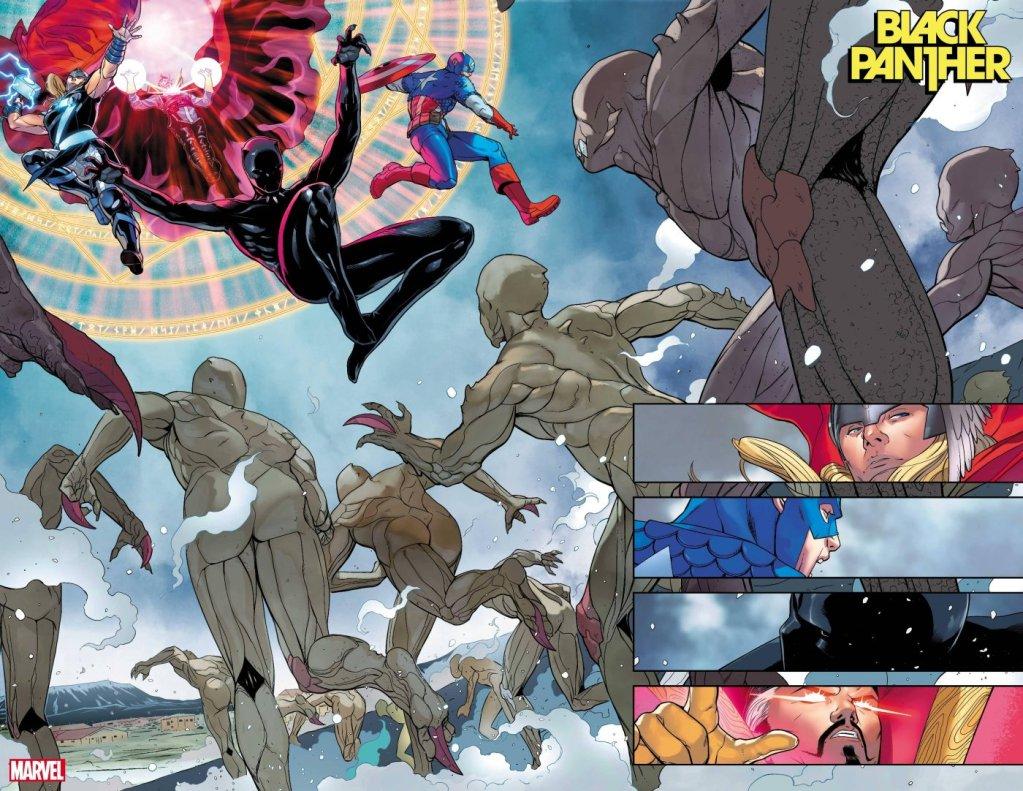 Black Panther #1, anteprima 01