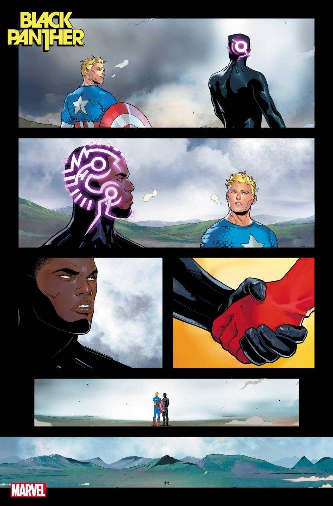 Black Panther #1, anteprima 03